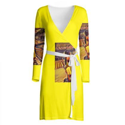 Mischievousfj Summer Wrap Dress