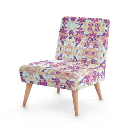 Occasional Chair  Slipstream collection  Blackberry [mauve, apricot]