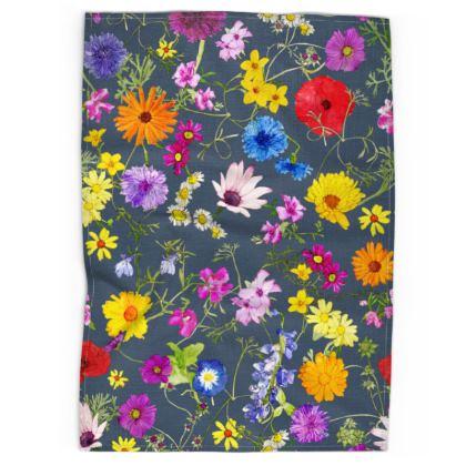 Tea Towel - Tangle of Wildflowers