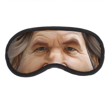 Jeff Bridges Celebrity Caricature Eye Mask