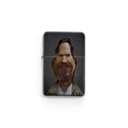 Jeff Bridges Celebrity Caricature Lighter