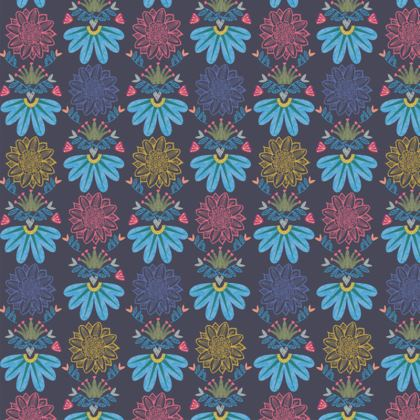 Blue Floral Craft Coasters