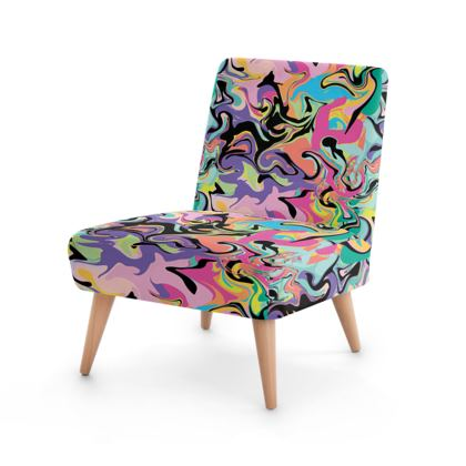 Abstract Occasional Chair