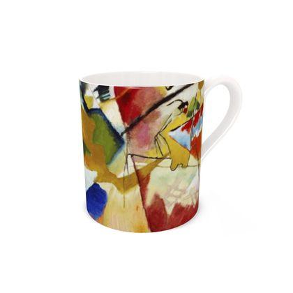 Mug - Bone China Kandinsky