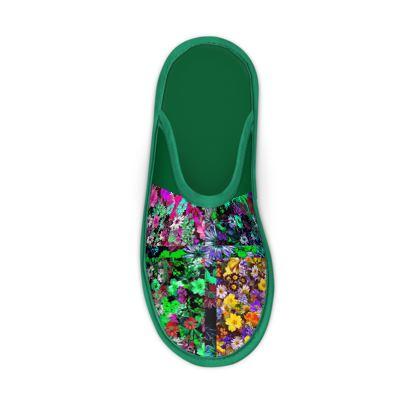 Pantofole da casa linea Il fiorame
