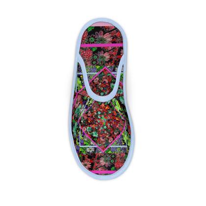 Pantofole linea Il fiorame