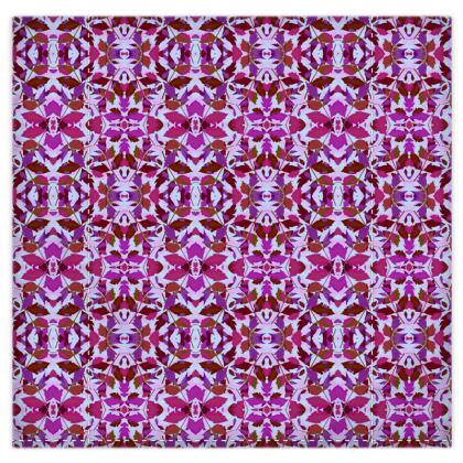 Duvet Covers  Cathedral Leaves  Anemone [mauve, geometric]