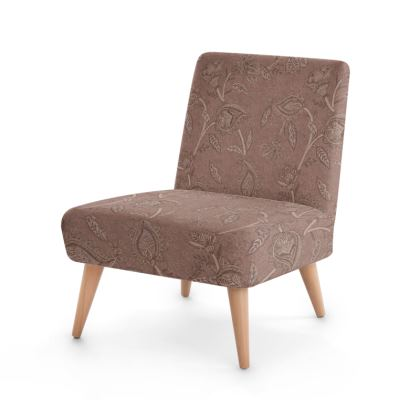 Oriental paisley pattern blush - Occasional chair