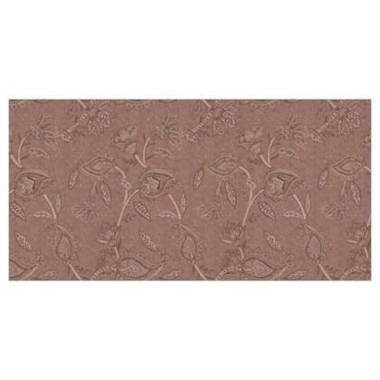 Oriental paisley pattern blush - Fabric printing