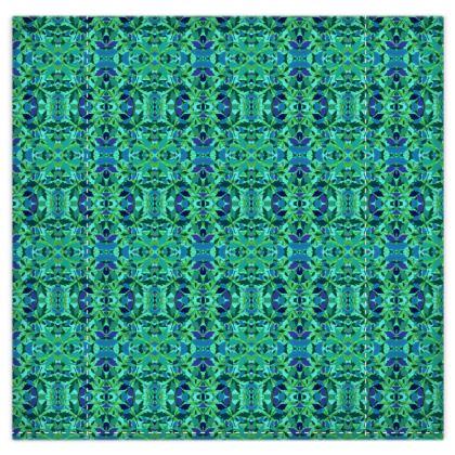 Duvet Covers  Diamond Leaves  Rainforest [green]