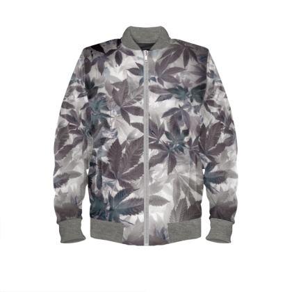Monochrome Cannaflauge Bombers Jacket