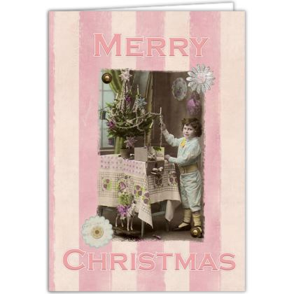 Vintage Christmas Postcard Occasions Cards