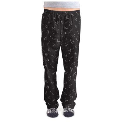 Constellation Print Ladies Pyjama Bottoms