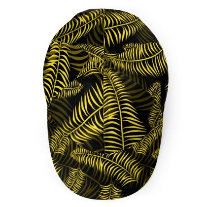Tropical Jungle Print Baseball Cap