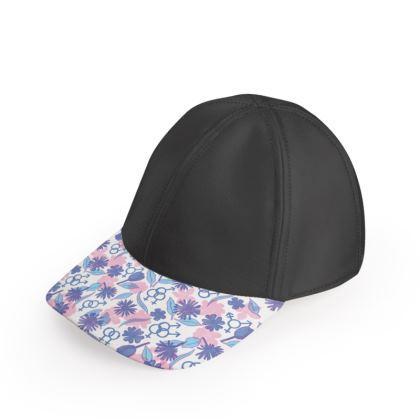 Unisex Floral LGBT+ Baseball Cap