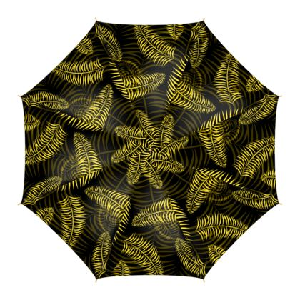 Stylish Designer Jungle Print Umbrella