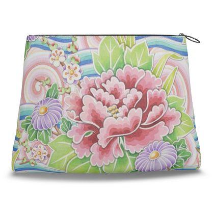 Kimono Bouquet Clutch Bag
