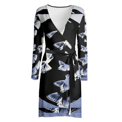 elegante abito collezione farfalle