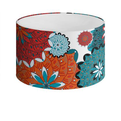 Indian inspired lamp shade