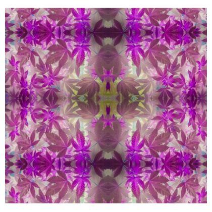 Pink kaleidoscope Cannaflauge t-shirt