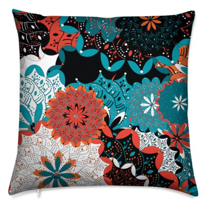 Indian pattern cushion