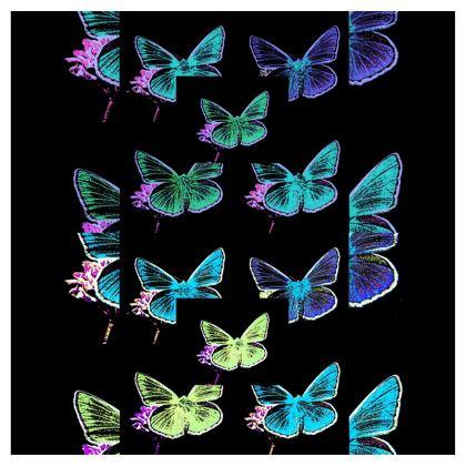 abito elegante in raso linea farfalle