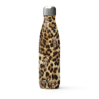 Stainless Steel Thermal Bottle Leopard Buzz Bum