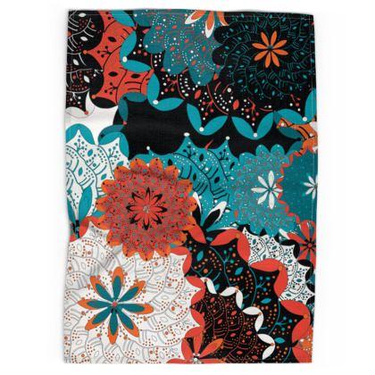 Indian pattern tea towel