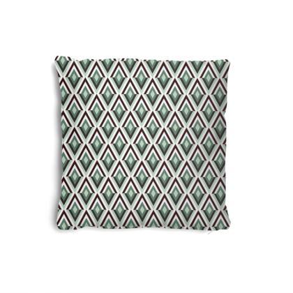 Art Deco Diamonds Pillow