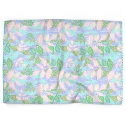 Tea Towels  Slipstream  Quiet Lake [turquoise]