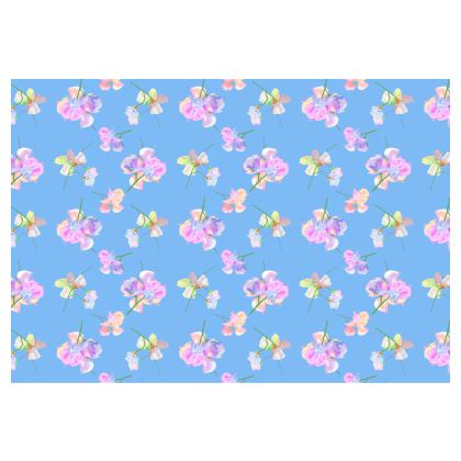 Occasional Chair  My Sweet Pea  Periwinkle