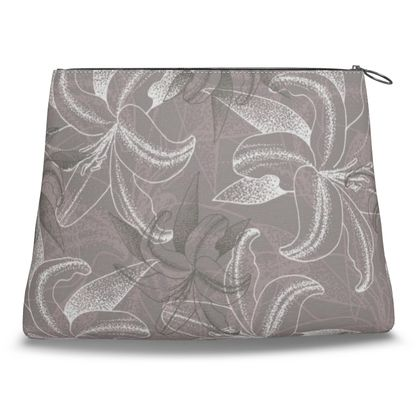 Canvas Shell Clutch - Clement Lilly