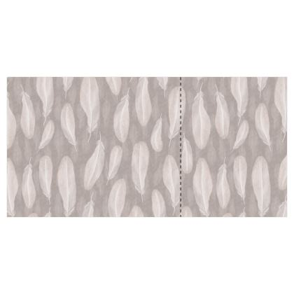 Soft hygge feathers - wallpaper