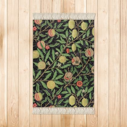 Small Rug (90x63cm) - Fruit Pattern (1862) Remaster