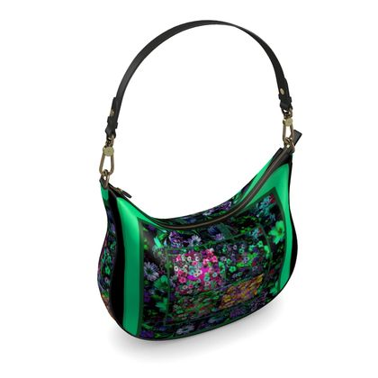 borsa elegante in pelle linea i fiori