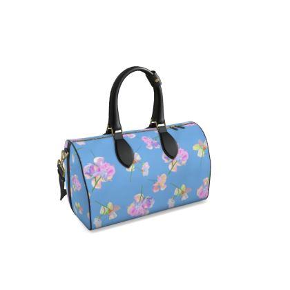 Duffle Bag  My Sweet Pea  Periwinkle