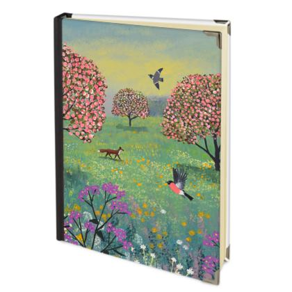 The Fox in Blossom Meadow journal