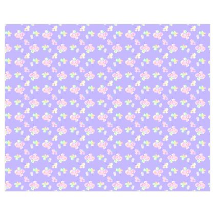 Curtains [single panel shown]  My Sweet Pea  Lilac Breeze