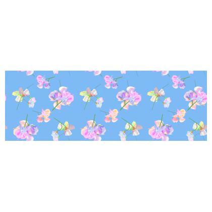 Bolster Cushion  My Sweet Pea  Periwinkle [blue]