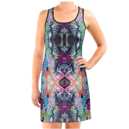 Graffiti Vest Dress