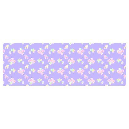 Bolster Cushion  My Sweet Pea  Lilac Breeze