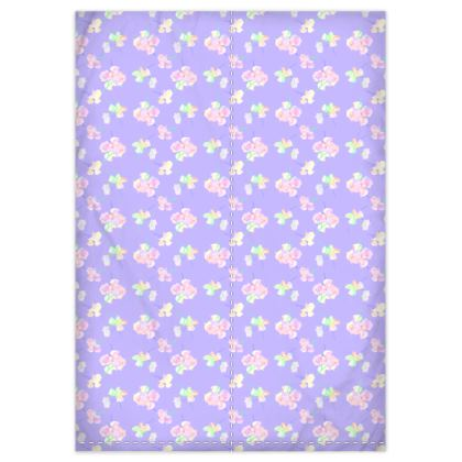 Duvet Covers[single euro size shown]  My Sweet Pea  Lilac Breeze
