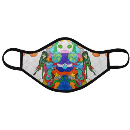 Pop Colourfull Elisavet in Space Face Masks