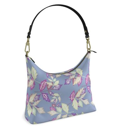 Square Hobo Bag  Slipstream  Powder Sky