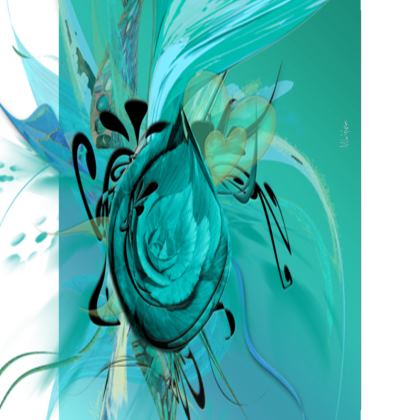Small Trays - Små Brickor - Turquoise on Turquoise