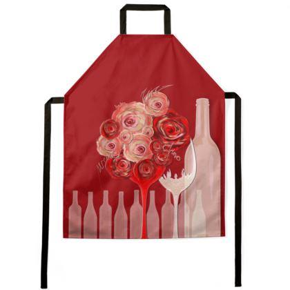 Apron - Förkläde - Wine Red