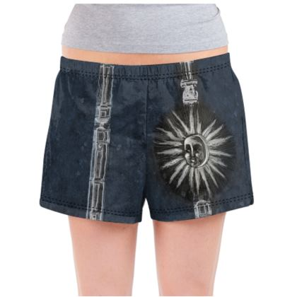 Dark Sun - Ladies Pyjama Shorts