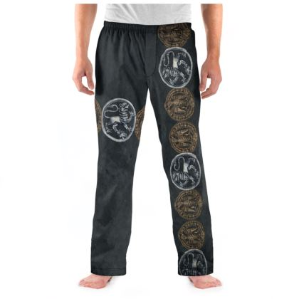 Medallions - Mens Pyjama Bottoms