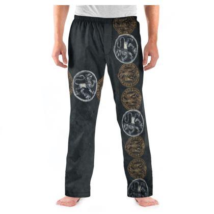 Medallions - Mens Pyjama Bottoms