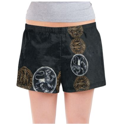 Medallions - Ladies Pyjama Shorts